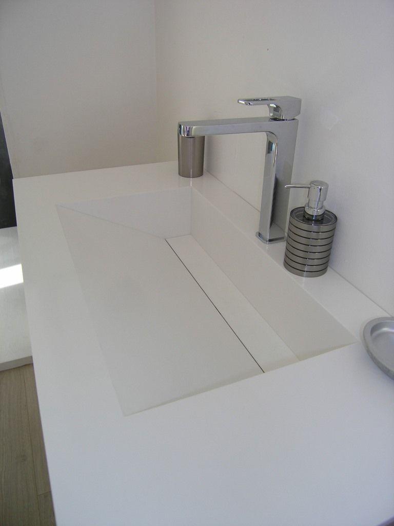 Vasque de toilette en résine HIMAC 2