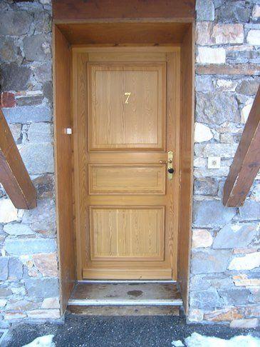 Porte d'entrée mélèze