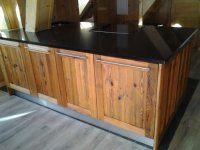 cuisine vieux bois à cadre